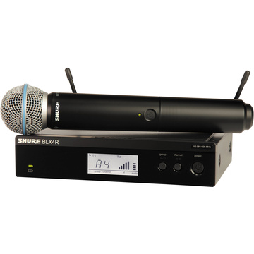 Shure BLX24R-B58 Vocal Wireless System with Beta 58A Mic