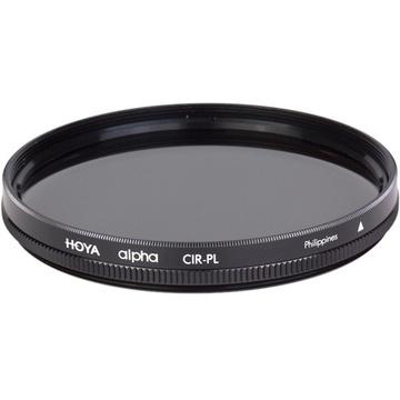 Hoya 62mm alpha Circular Polarizer Filter