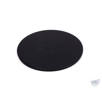 "Kessler CineDrive Turntable Top Surface - (12"") Black Corian"