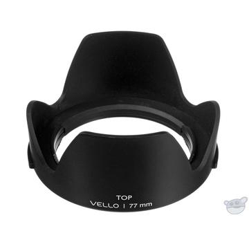 Vello 77mm Snap-on Tulip Lens Hood (Version II)