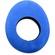 Bluestar Large Oval Eyecushion - Microfibre (Blue)