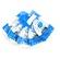 Bluestar Long Oval Eyecushion - Chamois (5 Pack)