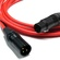 Canare L-4E6S Star Quad XLRM to XLRF Microphone Cable - 50' (Red)