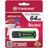 Transcend 64GB JetFlash 810 USB 3.0 Flash Drive (Green/Black)
