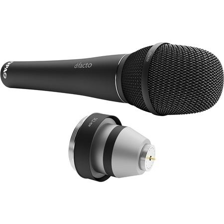 DPA d:facto Linear Supercardioid Vocal Handheld Microphone with Adapter