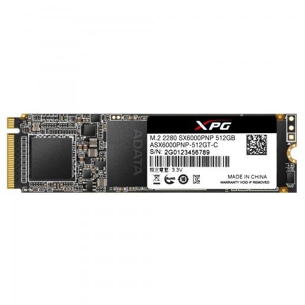 ADATA XPG SX6000 Pro PCIe M.2 2280 SSD (512GB)