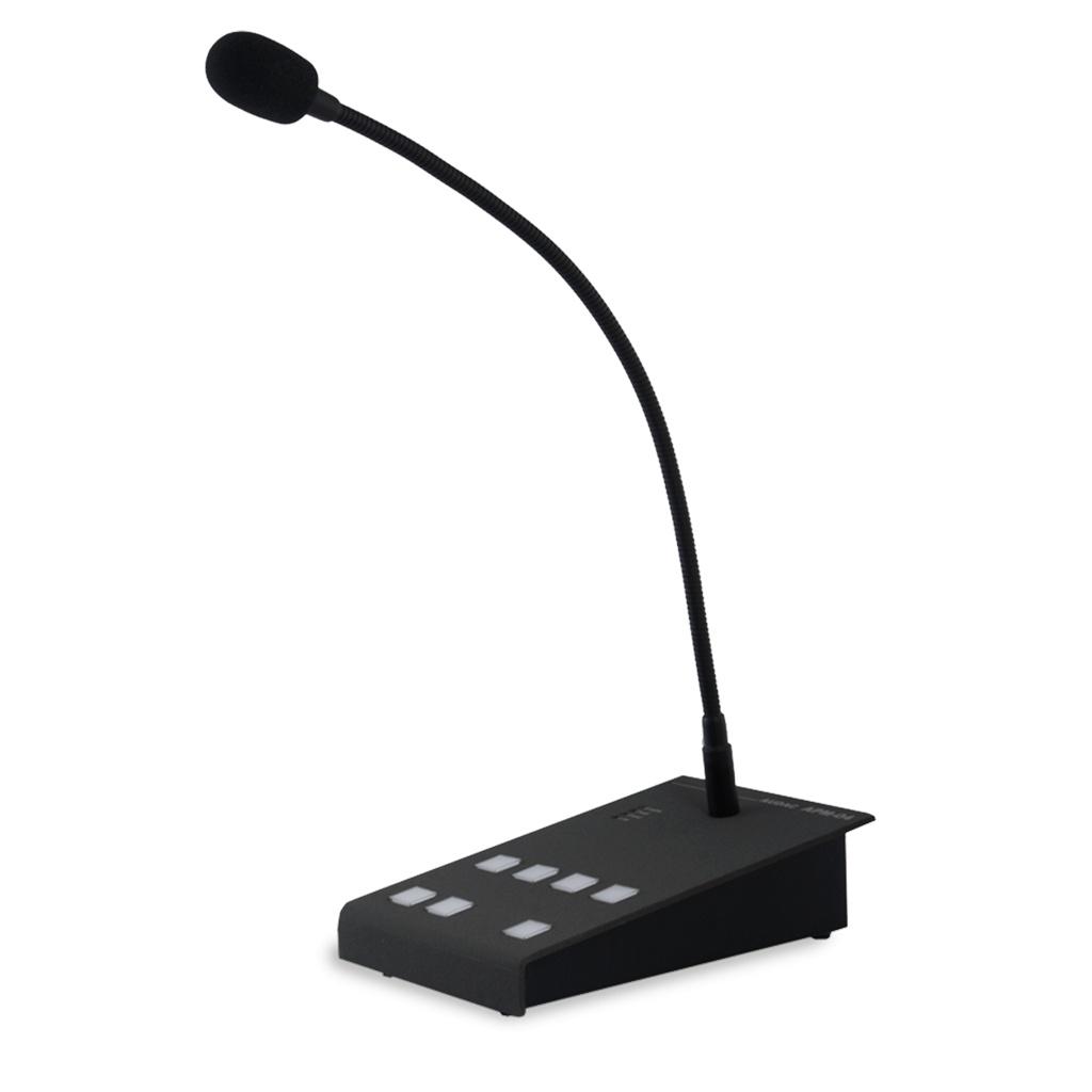 Audac APM104MK2 Digital Paging Microphone (4 Zones)
