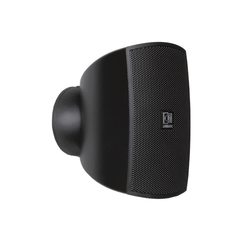 Audac ATEO2 Compact Wall Speaker (Black, 16 ohm)