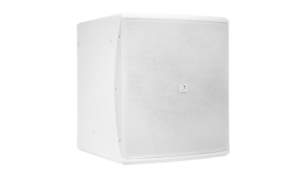 "Audac BASO12 Compact 12"" Bass Reflex Cabinet (White)"