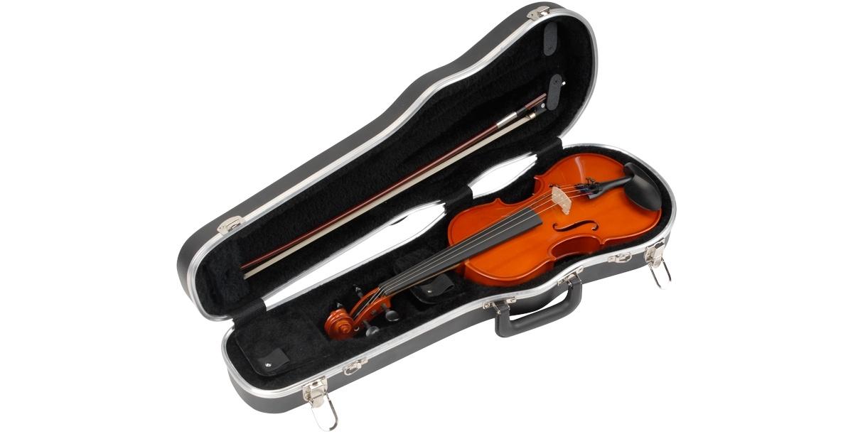 """SKB 1/2 Violin / 12"""" Viola Deluxe Case"""