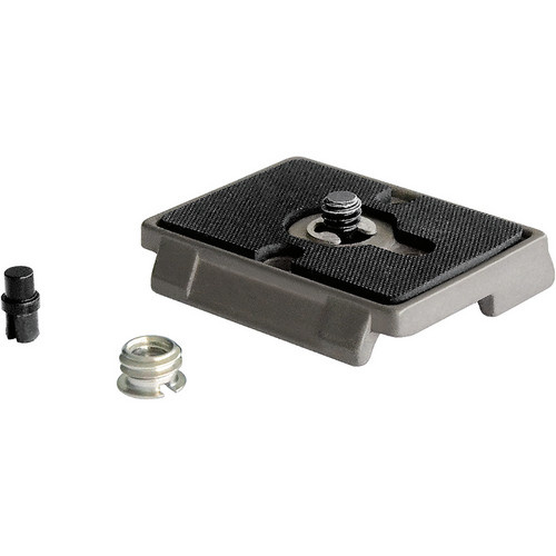 """Manfrotto 200PL Quick Release Plate with 3/8 and 1/4""""-20  screw"""