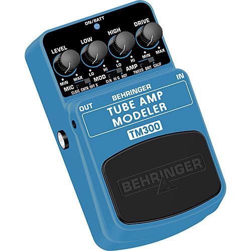 Behringer Tube Amp Modeler Effects Pedal