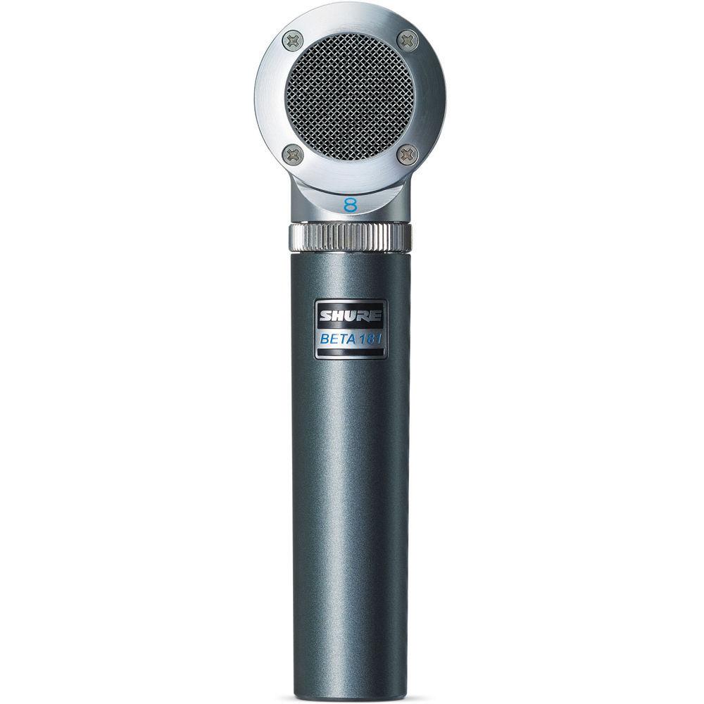 Shure BETA181-BI Side Address Instrument Microphone