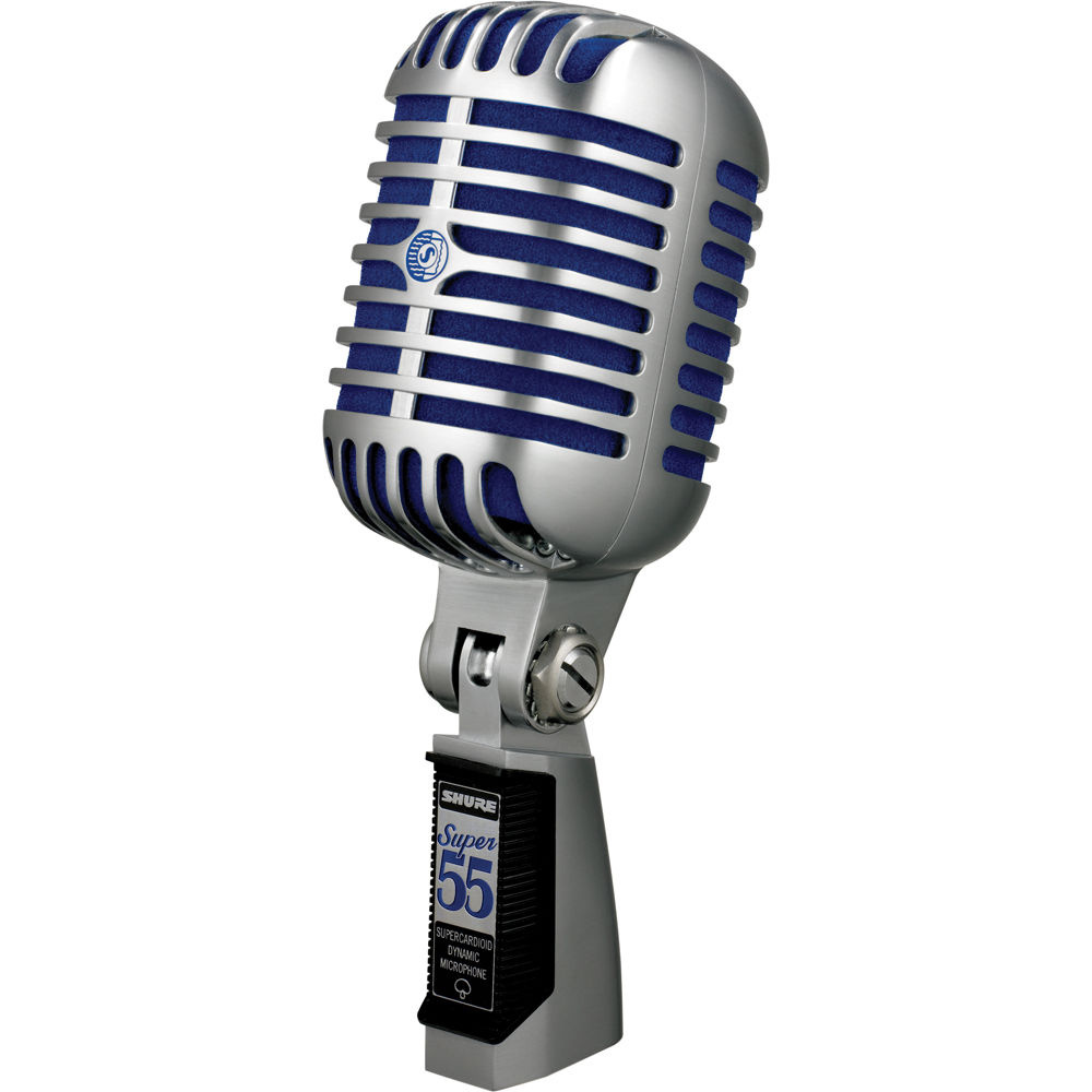 Shure Super 55 Deluxe Buddy Holly Microphone