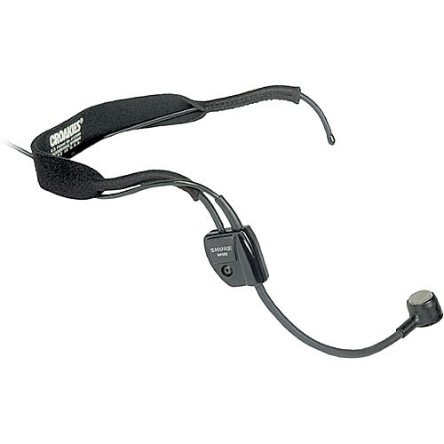 Shure WH20 Headset Mic with TA4F Connector for Shure Bodypack Transmitters
