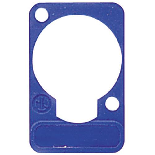 Neutrik DSS Lettering Plate (Blue)