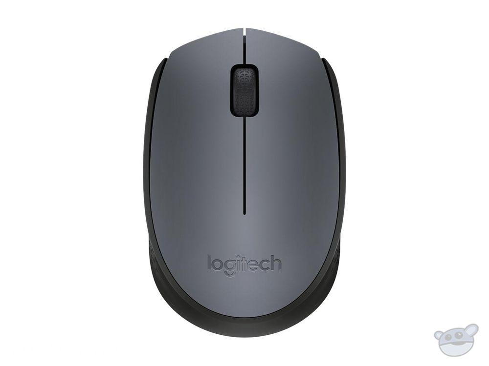 Logitech Wireless Mouse M171 (Grey/Black)