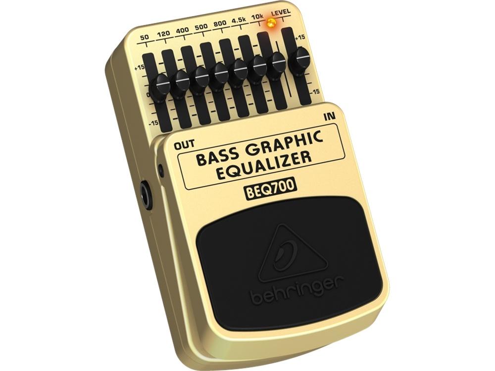 Behringer - BEQ700 - Bass Graphic Equalizer Pedal