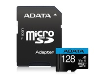 ADATA 128GB Premier microSD UHS-I A1 V10 Card (Class 10) with Adapter
