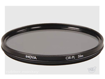 Hoya 67mm Slim Circular Polarising Filter