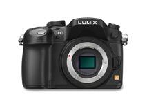 Panasonic Lumix DMC-GH3 Mirrorless Digital Camera (Black)