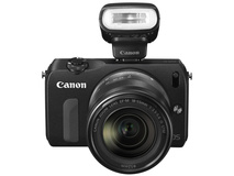 Canon EOS M Single IS Lens Kit with Speedlite 90EX