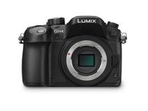 Panasonic Lumix DMC-GH4 4K Mirrorless Micro Four Thirds Digital Camera (Body Only)