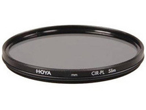 Hoya 55mm Slim Circular Polarising Filter