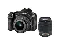 Pentax K-30 Digital Camera with 18-55mm and 50-200mm AL Lens Kit (Black)