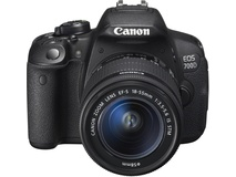 Canon EOS 700D DSLR with 18-55IS STM and 55-250IS STM Kit