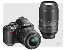 Nikon D3100 Twin Lens Kit including 18-55mm AF-S VR and 55-200 Lenses