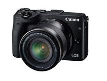 Canon EOS M3 Single Lens Kit with Bonus EVF