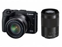 Canon EOS M3 18-55mm & 55-200mm Twin kit
