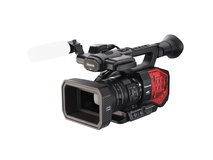 Panasonic AG-DVX200 4K Handheld Camcorder with Four Thirds Sensor and Integrated Zoom Lens